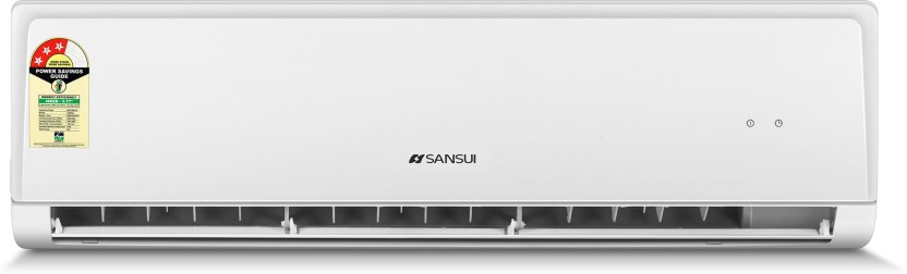 Sansui 1 Ton Inverter (3 Star) Split AC  - White