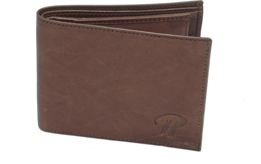 Pranjals House Men Brown Genuine Leather Wallet