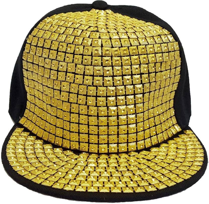Adamstone Embellished Hiphop, Baseball, Snapback Cap