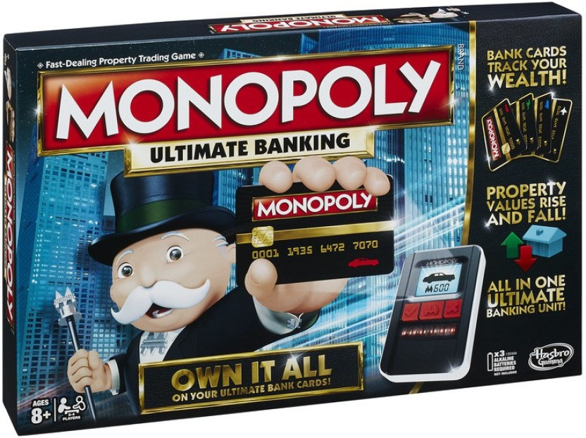 Hasbro Monopoly Ultimate Banking Board Game