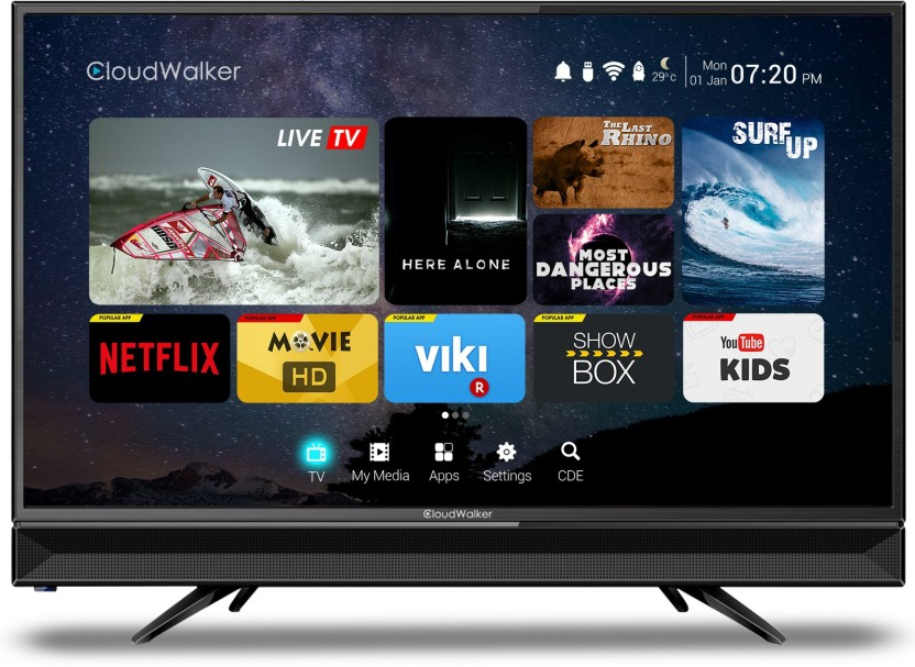 CloudWalker 80cm (32 inch) HD Ready LED Smart TV