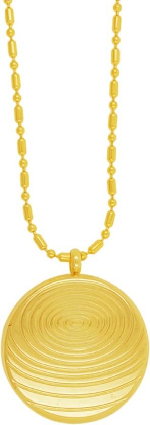 Saizen Scalar Energy Quantum Science Pendant 22K Yellow Gold Metal Pendant