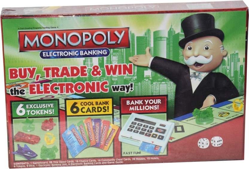 Kiditos Monopoly Electronic Banking Board Game