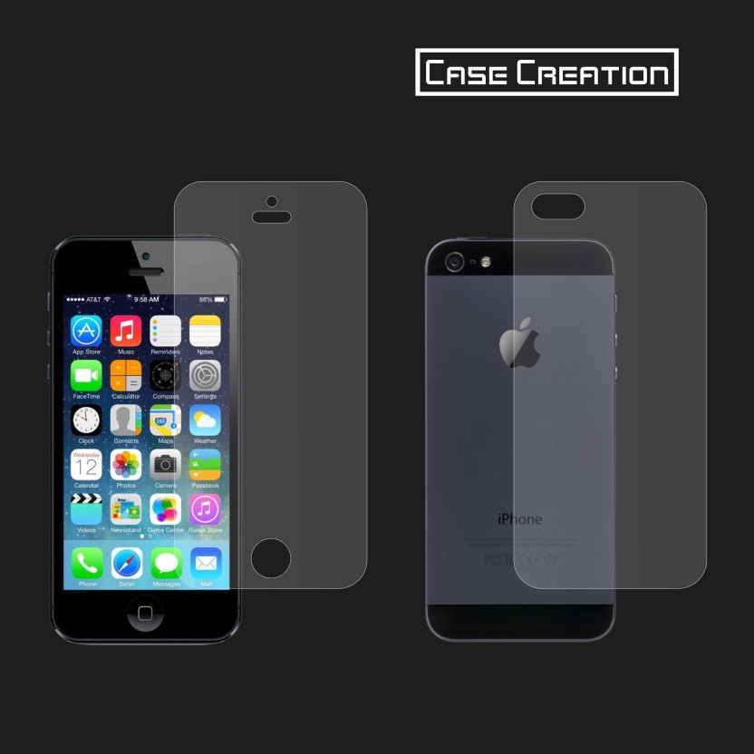Case Creation Front & Back Protector for Apple iPhone 5, 5S, 5SE