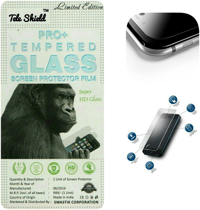 TELESHIELD Tempered Glass Guard for MICROMAX BOLT A067