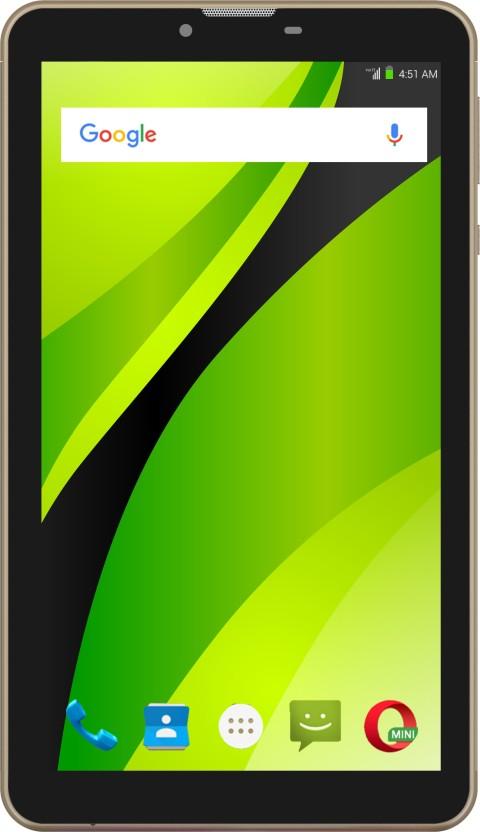 Swipe Strike 4G VoLTE 16 GB 7 inch with Wi-Fi+4G Tablet