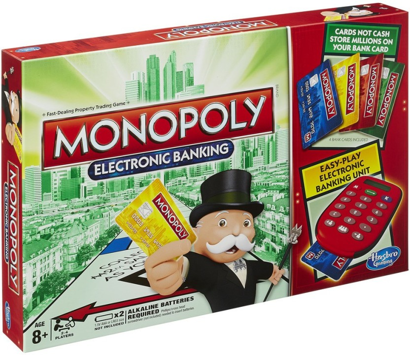Hasbro Gaming Monopoly Electronic Banking Game Board Game