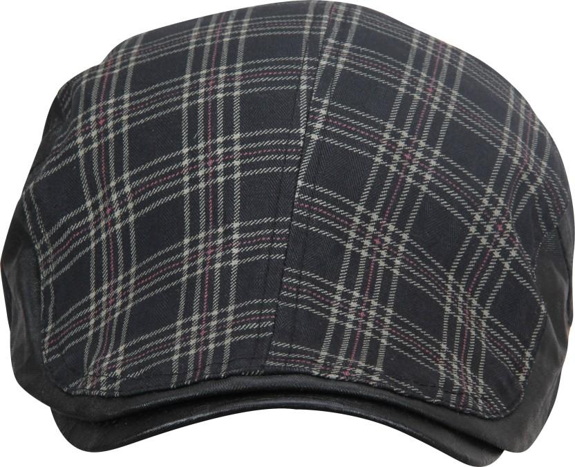 FabSeasons Checkered Classy Golf Flat Cap Cap