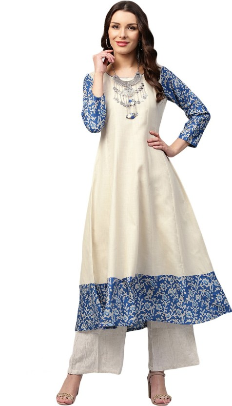Libas Solid Women Anarkali Kurta