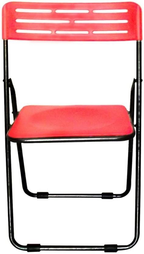 Colorwood Multipurpose Folding Orange Plastic Cafeteria Chair