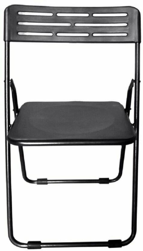 Colorwood Multipurpose Folding Plastic Black Color Plastic Cafeteria Chair