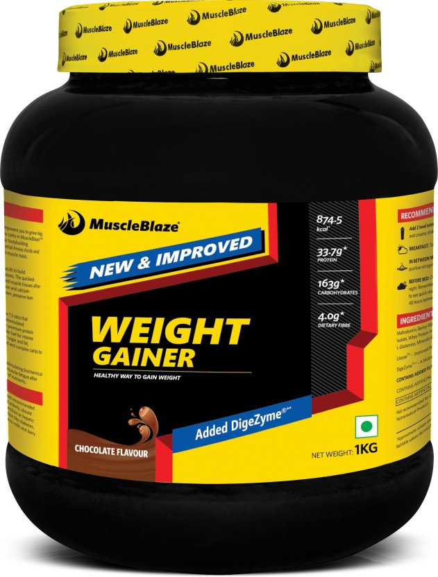 MuscleBlaze Weight Gainer with Added DigeZyme Weight Gainers