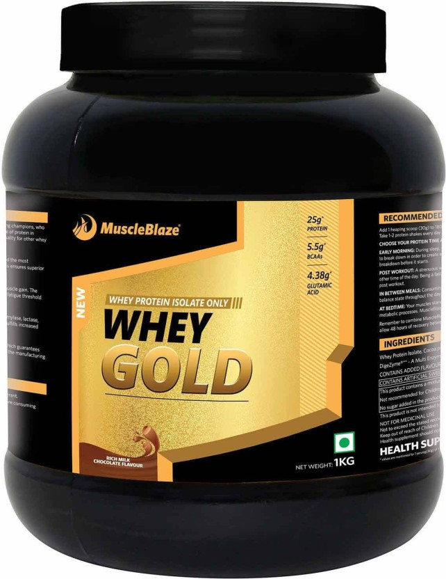 MuscleBlaze Whey Energy with DigeZyme Whey Protein