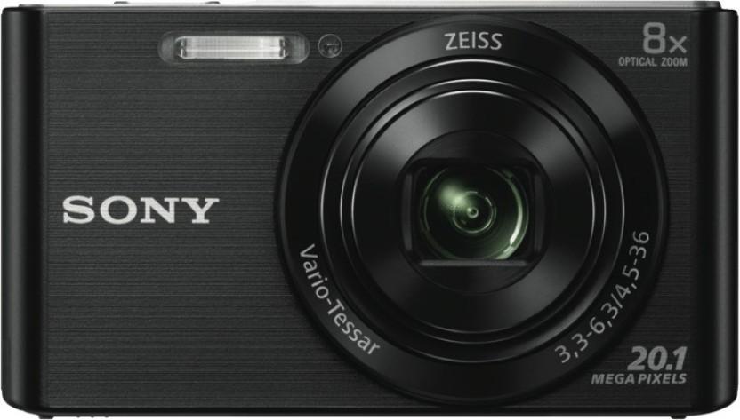 Sony DSC W830 Black NO Point & Shoot Camera