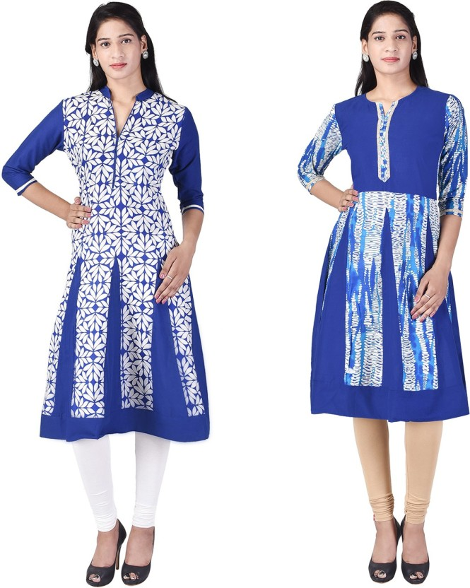 Samriti Festive & Party Printed Women Kurti