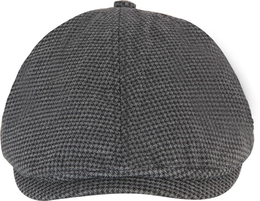 FabSeasons Checkered Golf Regular Flat Cap Cap