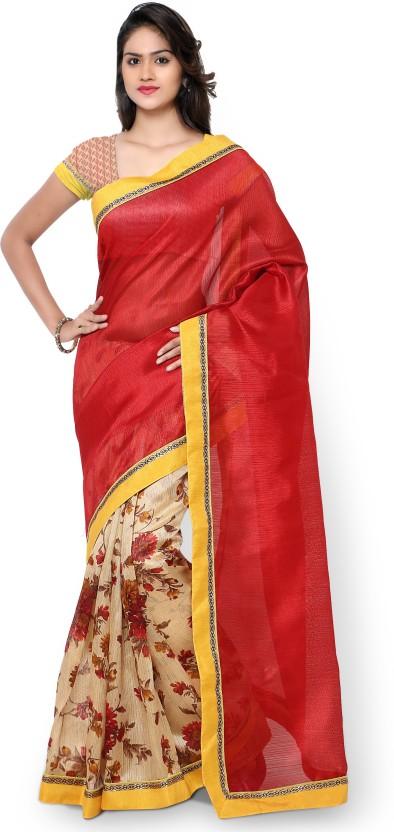 Divastri Self Design Fashion Polyester, Art Silk Saree