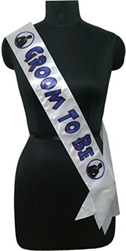 PARTY PROPZ Bachelorette PARTY DECORATION / GROOM TO BE SASH / Bachelorette PARTY SUPPLIES