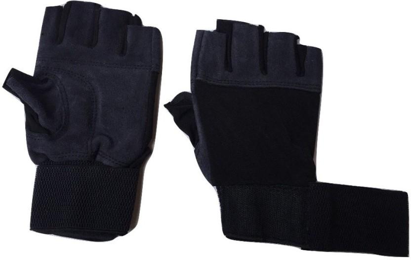 greenbee My GLOVES Gym & Fitness Gloves (Men, Grey)