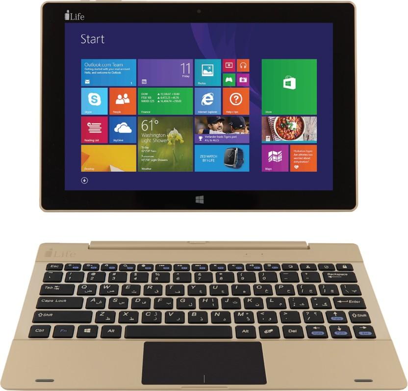 i-Life ZED Series Atom Quad Core - (2 GB/32 GB EMMC Storage/Windows 10 Home) ZED Book 2 in 1 Laptop