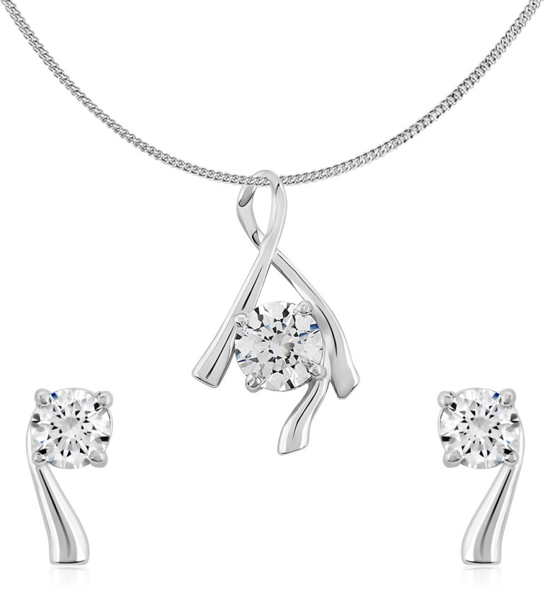 Shiyara Jewells Sterling Silver Jewel Set