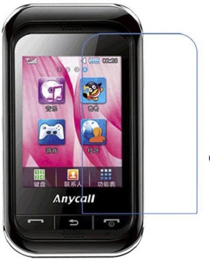 FIVE ON FIVE Matte Screen Guard for Samsung C3303