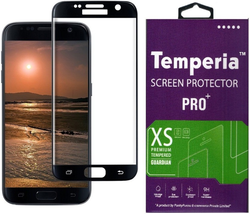 Tough Lee Tempered Glass Guard for Samsung Galaxy S6 Edge (5.1 inch, Gold)