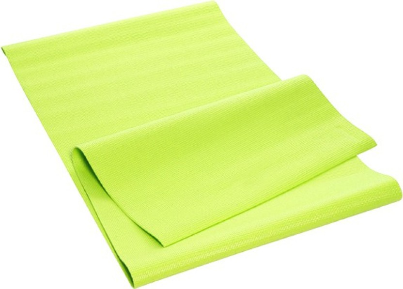 OSEL Yoga Mat 6mm Green 6 mm Yoga Mat