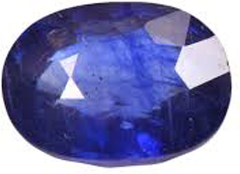 Freedom Certified Natural Blue Sapphire Gemstone 4.25 Ratti or 3.87 Carat for Male & Female Sapphire Stone Pendant