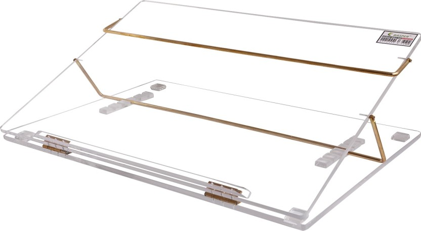 Rasper 2 Compartments Clear Acrylic Table Top Elevator (Standard Size 21x15 Inches) Premium Quality With 1 Year Warranty