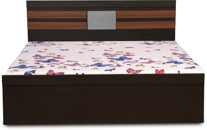 Decor Modular SPARROW Engineered Wood Queen Bed With Storage