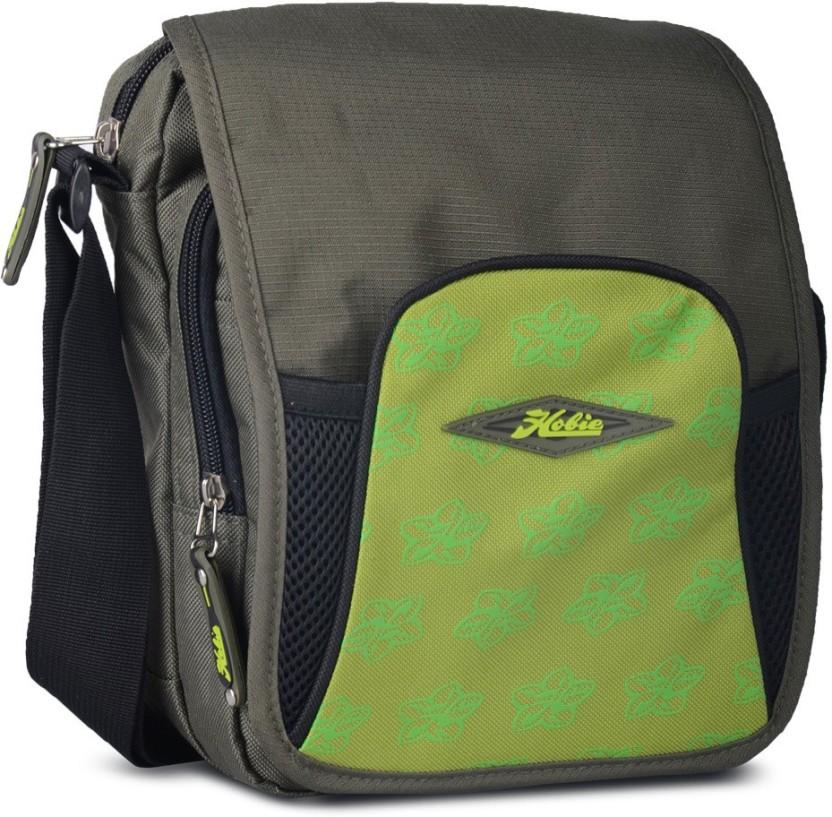 Hobie Men & Women Multicolor Nylon Messenger Bag