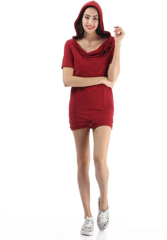 Only Women Shift Red Dress