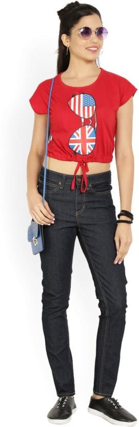 Lee Slim Women Blue Jeans