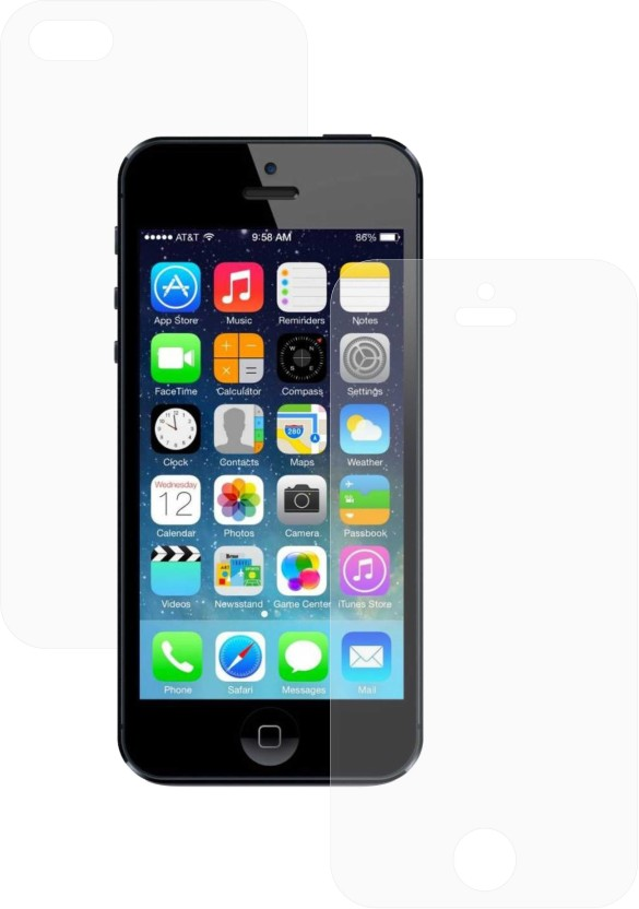Zootkart Front & Back Protector for Apple iPhone 5s