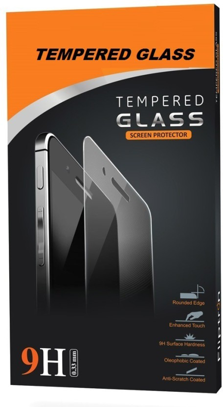 Loopee Tempered Glass Guard for Micromax Canvas 4 A210