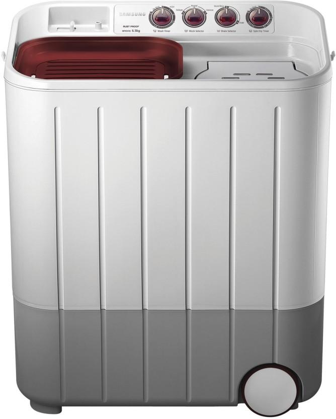 Samsung 6.5 kg Semi Automatic Top Load Washing Machine White