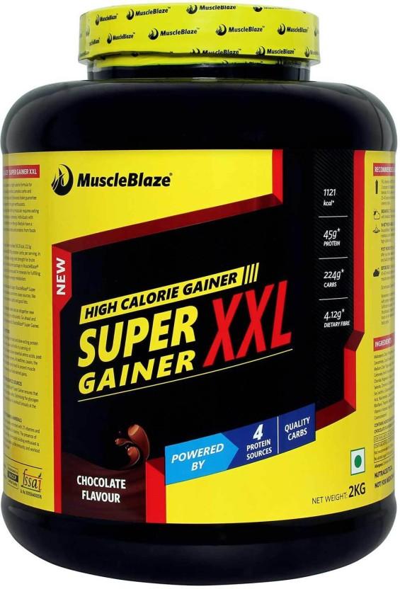 MuscleBlaze Super Weight Gainer XXL Mass Gainers
