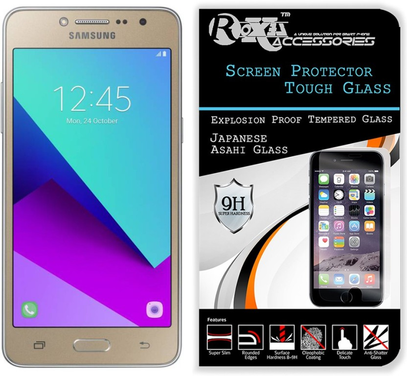 Roxel Tempered Glass Guard for Samsung Galaxy Grand Prime SM-G530H