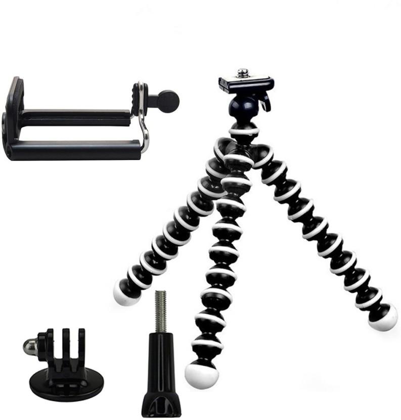 Taslar Gorilla Flexible with Mount & Long screw Tripod Kit