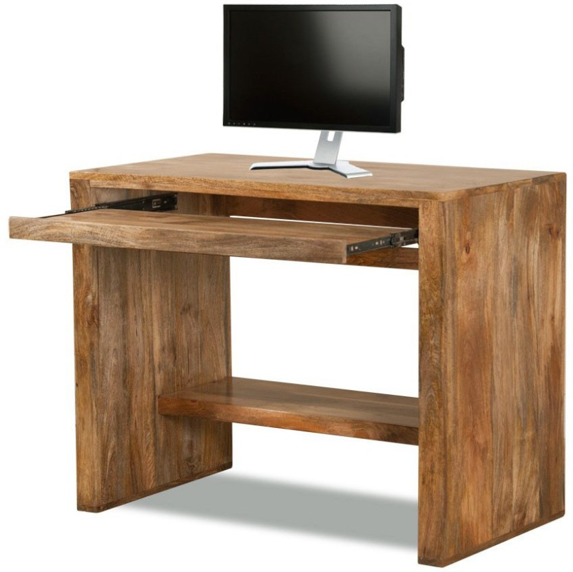 The Attic Solid Wood Computer Desk