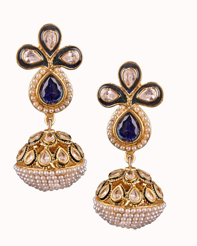 Divastri Gorgeous Drop Alloy Drop Earring