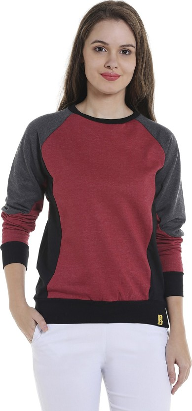 Campus Sutra Full Sleeve Solid Women