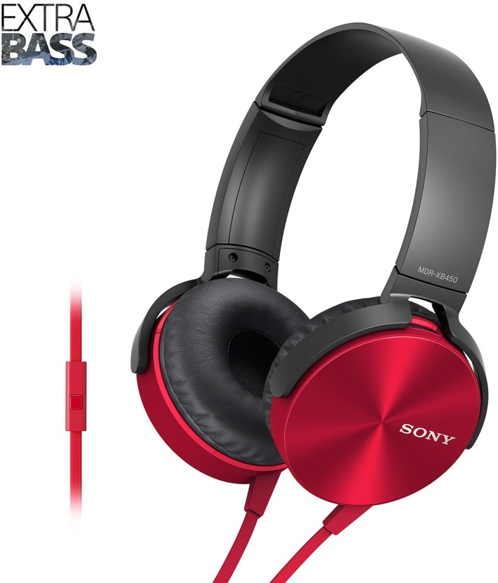 Sony MDR-XB450AP Headset with Mic