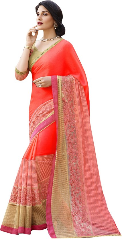 Shaily Retails Embellished Fashion Georgette Saree