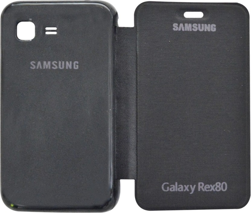 COVERNEW Flip Cover for Samsung Rex 80 S5222R
