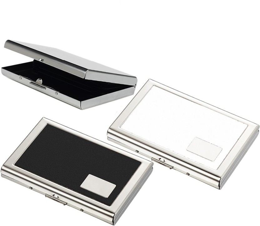 Stealodeal 50% Off High Quality Stainless Steel 6 Card Holder