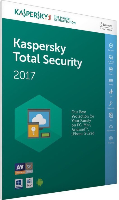 KASPERSKY TOTAL SECURITY 2PC 1 YEAR