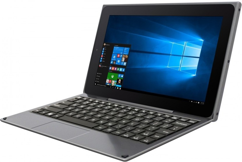 Venturer Quad Atom Quad Core 2nd Gen - (2 GB/32 GB HDD/32 GB SSD/32 GB EMMC Storage/Windows 10/2 GB Graphics) WT19803W87DK 2 in 1 Laptop