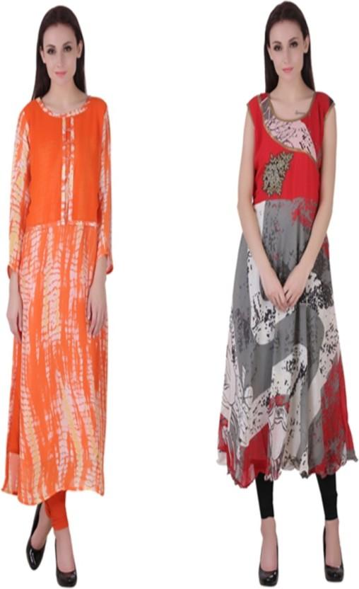 VF FASHIONS Festive & Party Printed Women Kurti